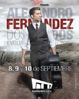 Alejandro Fernández en el Auditorio Nacional
