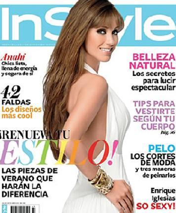 Anahí en Revista In Style