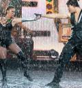 Liz Vega bailando bajo el agua en 2do campeonato mundial de baile