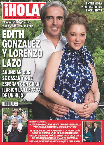 Edith Gonzalez anuncia embarazo en HOLA