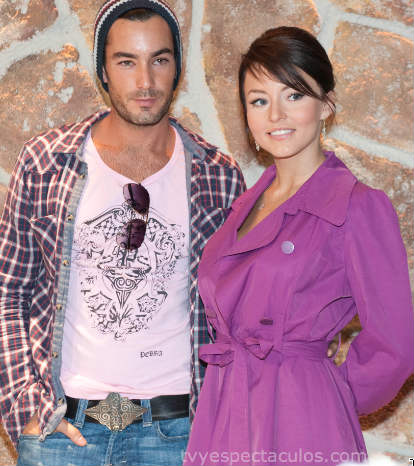 Angelique Boyer y Aaron Díaz