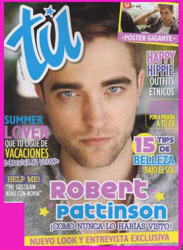 Robert Pattinson en revista Tú
