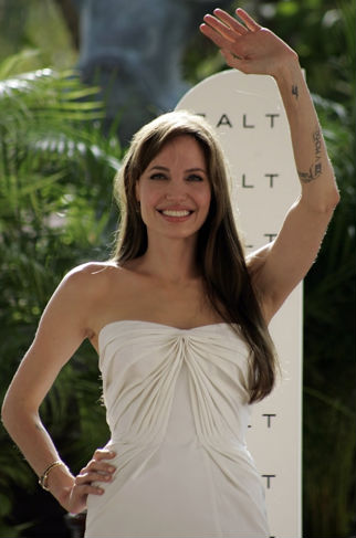 Angelina Jolie en Cancun