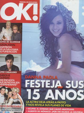 Danna Paola en OK