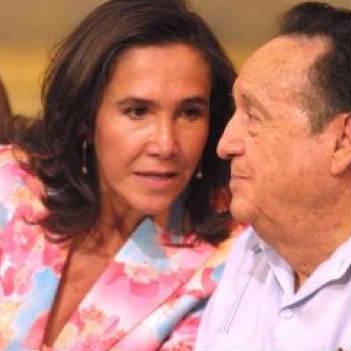 Carlos Villagran disgustado con Florinda Meza