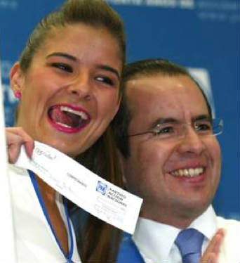 Patylu y Cesar Nava
