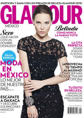 Belinda en Glamour