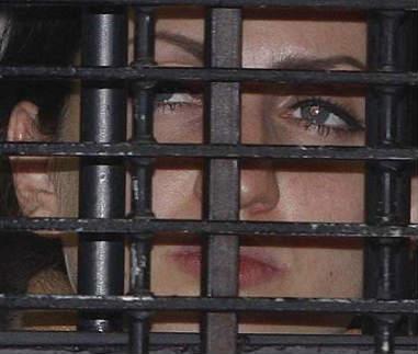 Celia Lora sale de prisión