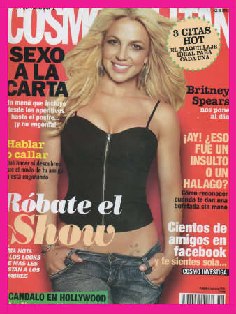Cosmopolitan con Britney Spears