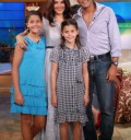 Francisco Gatorno y su familia