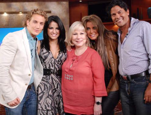 Elenco de Mi Pecado en El Show de Cristina