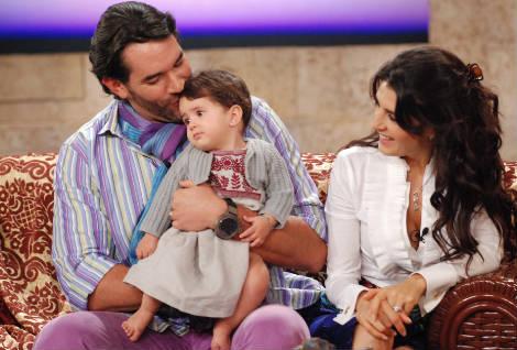 Mayrin Villanueva y Eduardo Santamarina en el Show de Cristina