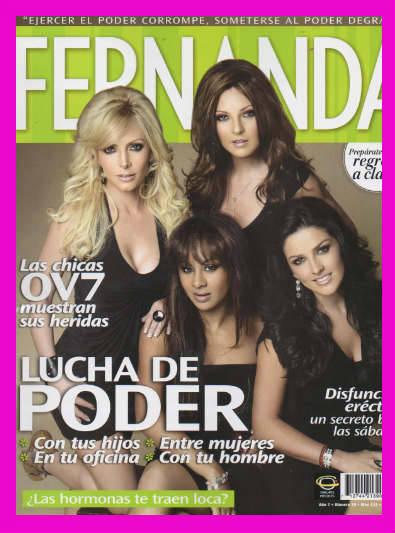 Las chicas de OV7 en Fernanda