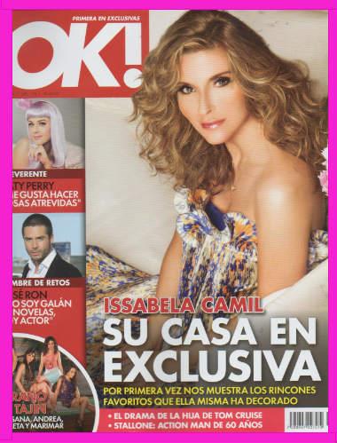 Issabela Camil en Revista OK!