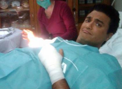 Jaime Camil sufre accidente en las manos