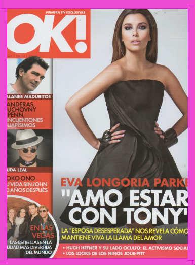 Eva Longoria En OK!