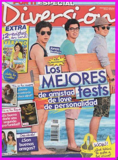 Jonas Brothers en Revista Por Ti