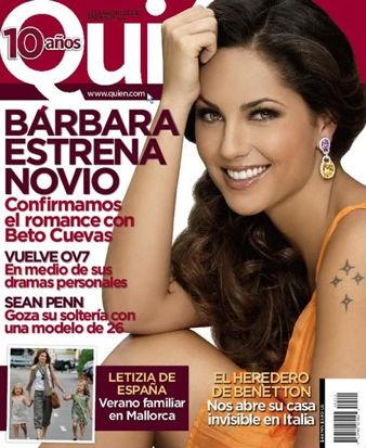 Bárbara Mori confirma romance con Beto Cuevas