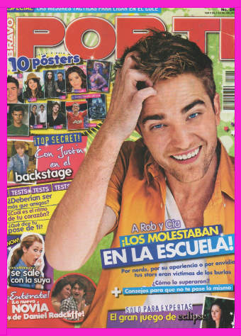 Robert Pattinson en Revista Por Ti