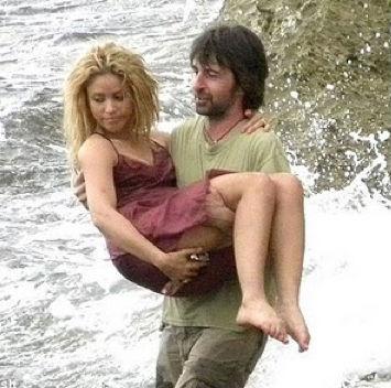 Shakira sensual en España