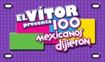 100 mexicanos dijieron
