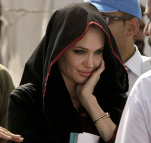 Angelina Jolie en Pakistan