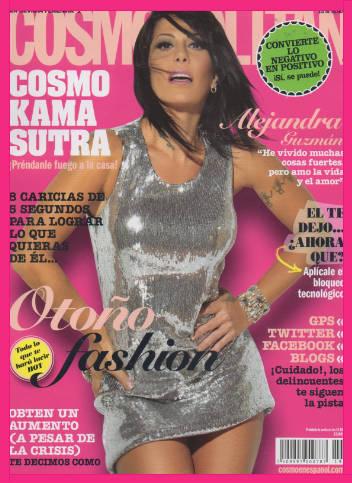 Alejandra Guzmán en Cosmopolitan