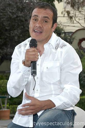 Presentan a Cuauhtémoc Blanco como actor