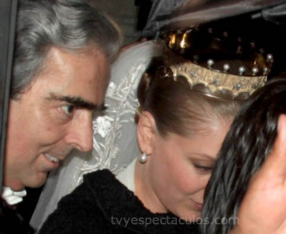 Edith González boda