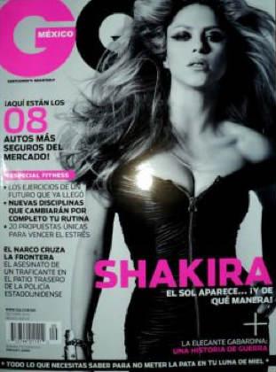 Shakira en GQ México