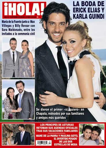 Boda de Erick Elías y Karla Guindi