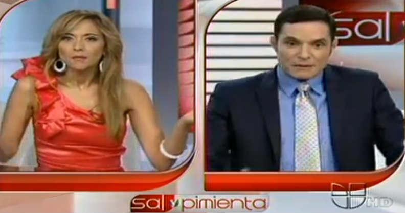 Causa polémica Horacio Villalobos en Sal y Pimienta