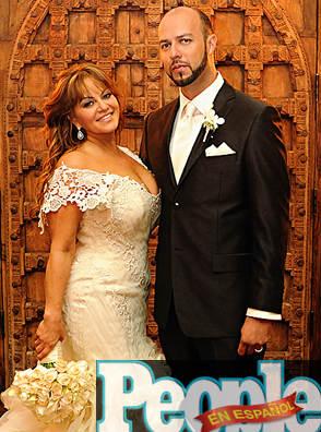 Foto de la boda de Jenni Rivera