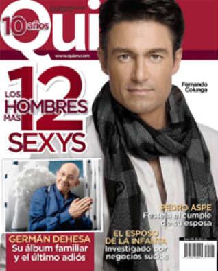 Los 12 hombres más sexys de México en Quién