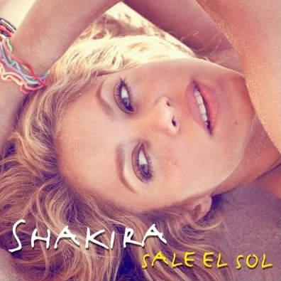 Portada Sale el Sol de Shakira