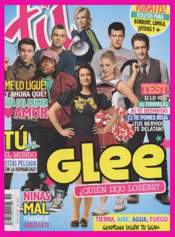 Revista Tú con Glee