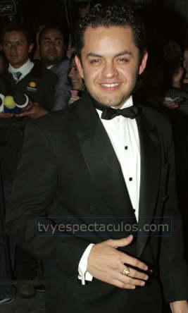 Gerardo en la boda de Pedro Fernández