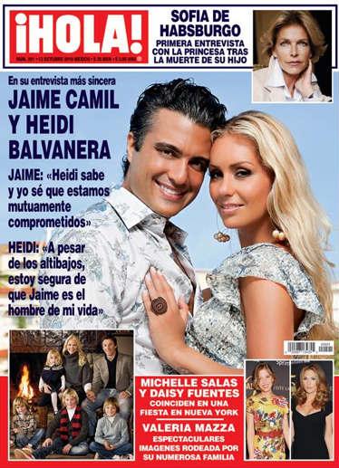 Jaime Camil en Revista Hola