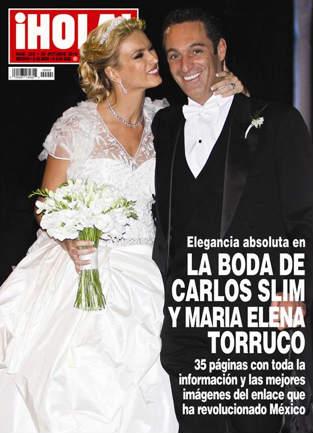 La boda de Carlos Slim y María Elena Torruco