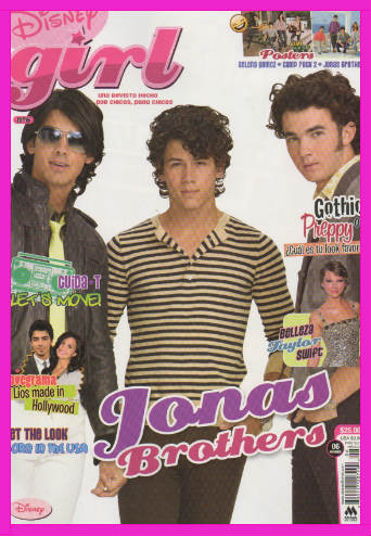 Jonas Brothers en Revista Disney