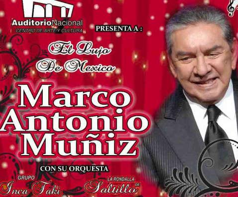Marco Antonio Muñiz en Auditorio Nacional