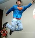 Facundo como superman