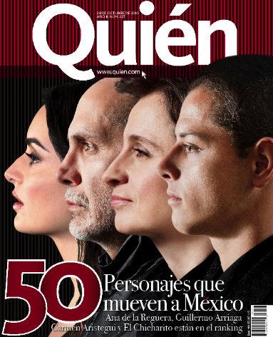 Los 50 personajes que mueven a México