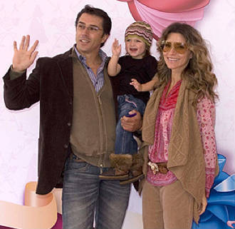 Sergio Mayer y su familia