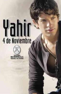 Yahir en el Teatro Metropolitan 4 de noviembre