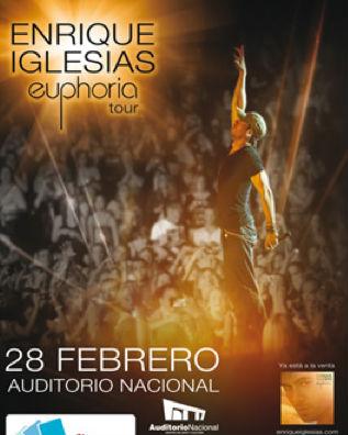 Enrique Iglesias en Auditorio Nacional 28 de febrero