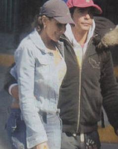Lorena Rojas y Armando Araiza