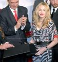 Madonna con Marcelo Ebrad