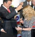 Madonna Recibe las llaves de la Ciudad de México
