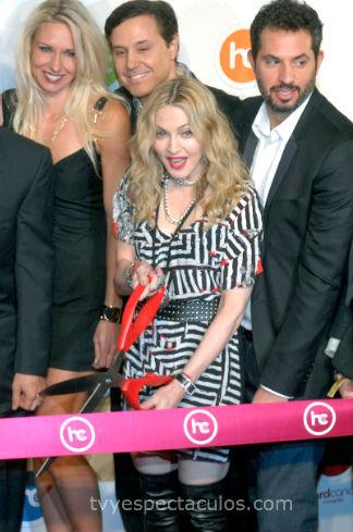 Madonna inauguró su GYM en México